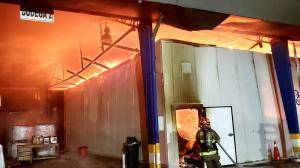 Incendio - Carcelén - Empresa