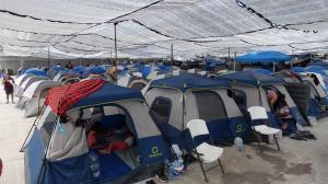 Llegada de haitianos