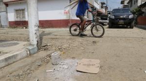 En esta esquina fue asesinado Ángel Gregorio Sánchez (círculo). El fallecido aseguraba que era integrante de Los Lagartos.