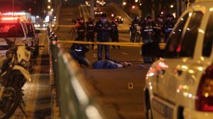 Roberto Carlos Jácome Valencia fue asesinado en la avenida 25 de Julio. Recibió varios disparos en la cabeza.