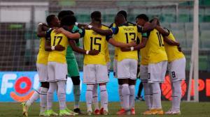 Ecuador empata 1-1 ante Venezuela.