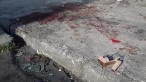 El hecho de suscitó en la esquina de las calles 33 y Maracaibo. Las víctimas sobrevivieron al ataque.