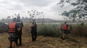 Los agentes del Grupo de Operaciones Especiales (GOE) estuvieron a cargo de la búsqueda.
