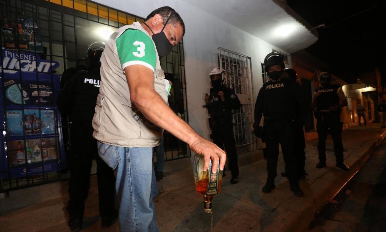 operativo Intendencia en Guayaquil