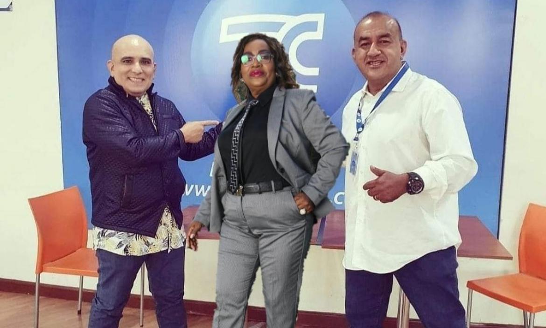 Tremendo trío en la TV