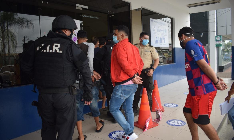 detenidos Quevedo