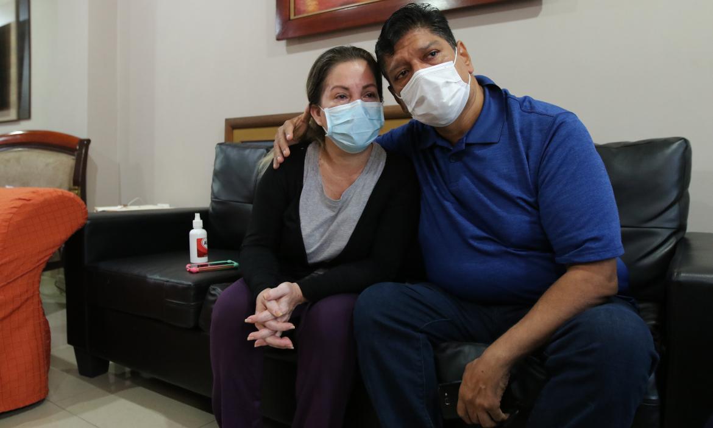 Audrey Pita y Edgar Mena contaron su padecimiento, tras la muerte de su hijo.