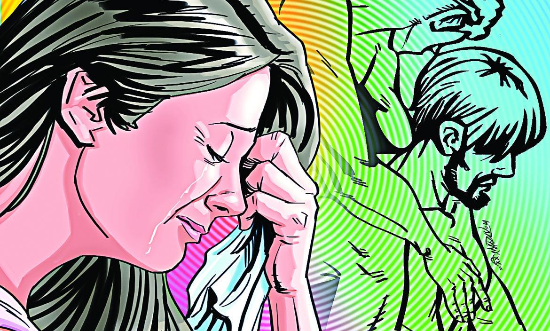 Mujer se siente mal porque su esposo se fue con otro hombre.