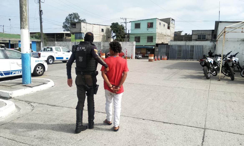 Detenido sur Guayaquil