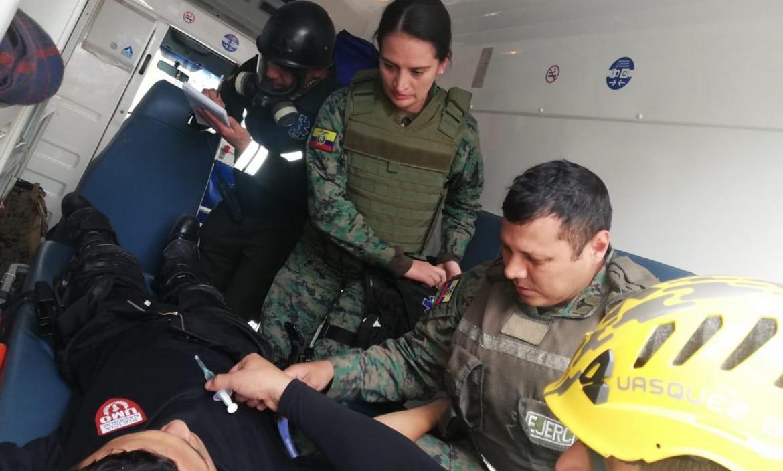 Imagen CUENCA POLICÍA HERIDO ATENDIDO POR M (28183615)