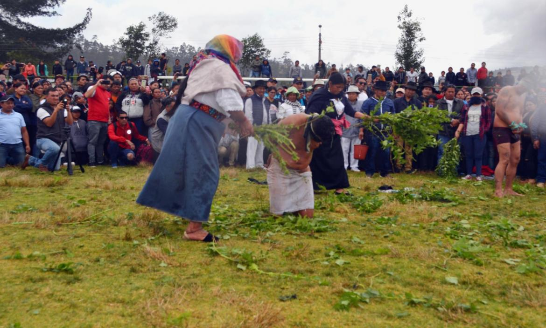 JUSTICIA INDÍGENA A EXTRANJEROS EN OTAVALO