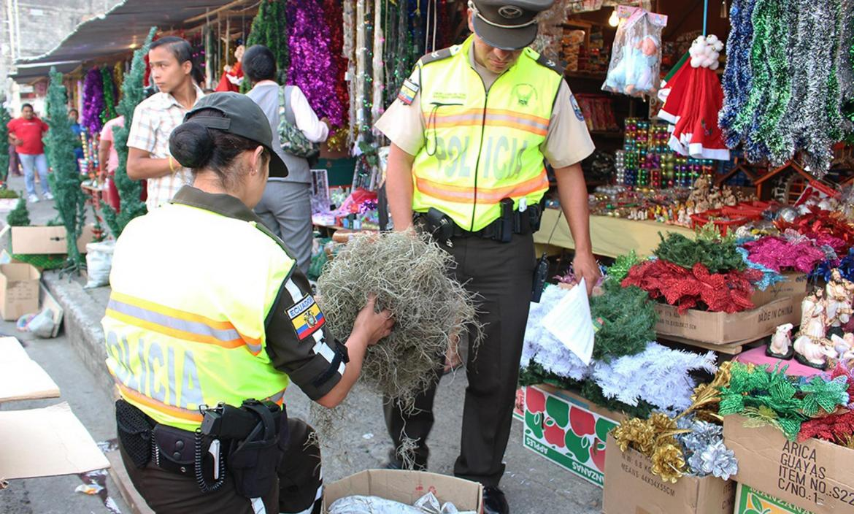 OPERATIVO DE LA POLICÍA AMBIENTAL DENTRO DE LA CAMPAÑA