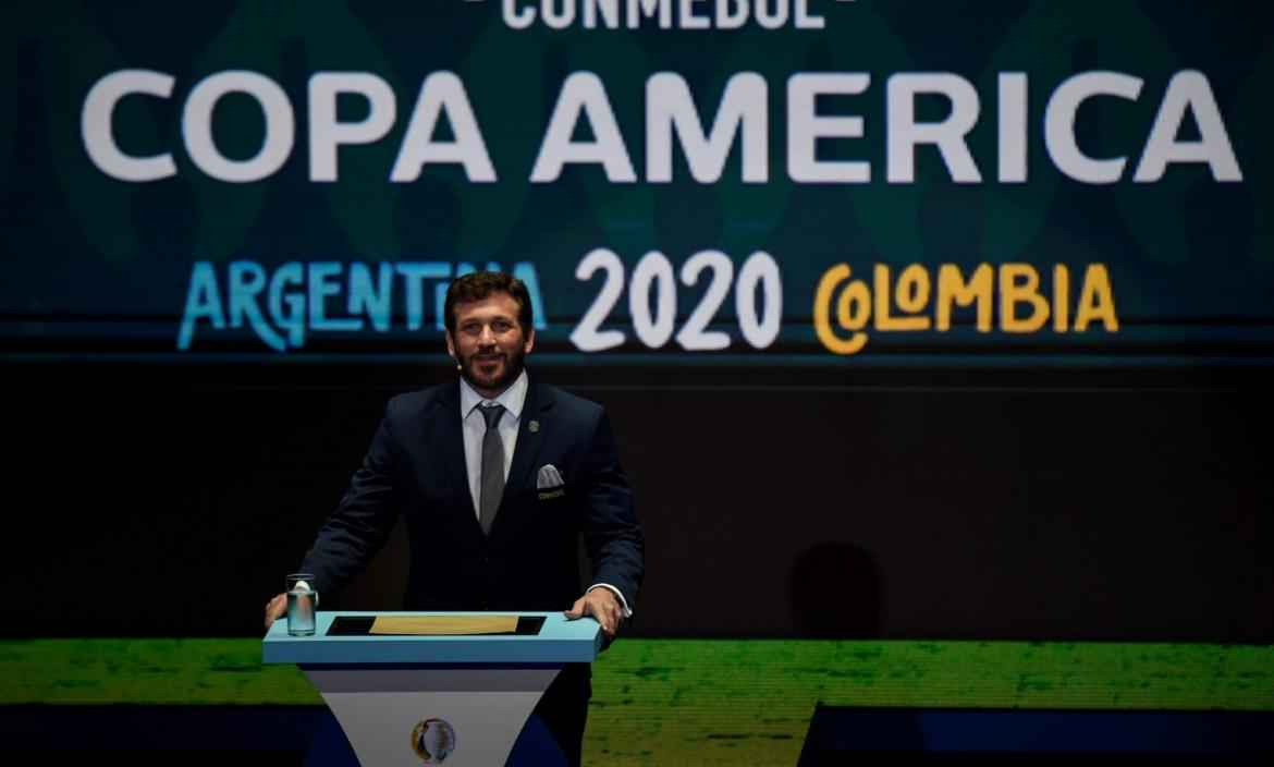 Alejandro Dominguez, the president of the Conmebol, the South America