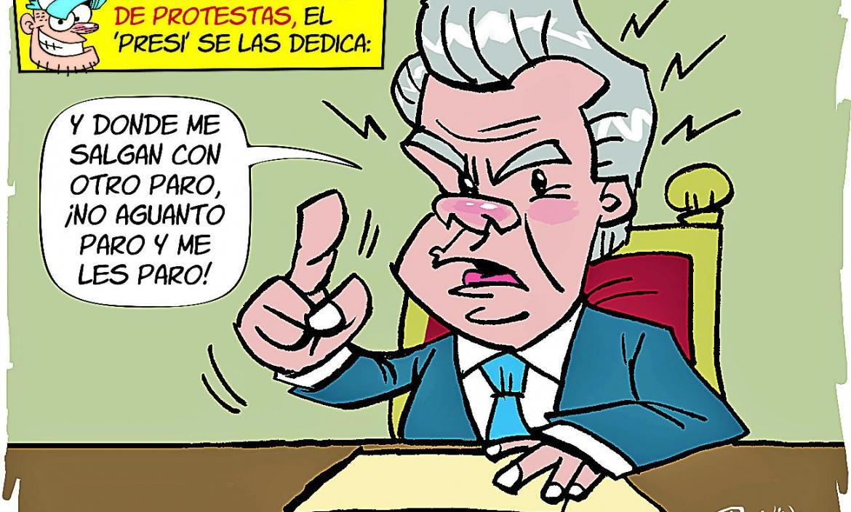 Imagen BOLLO NO MÁS PAROS O SE PARA EL PRES (28301863)