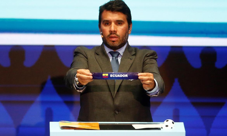 Sorteo Copa América 2020