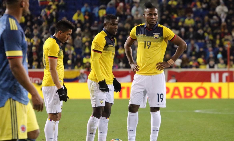 ECUADOR VS. COLOMBIA   PARTIDO AMISTOSO