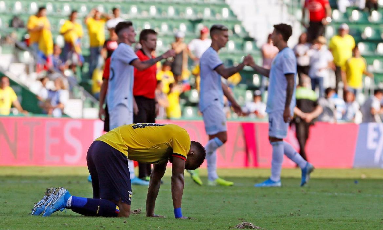 ARGENTINA VS. ECUADOR - PARTIDO AMISTOSO