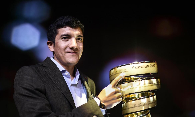 Winner of the 2019 Giro d'Italia cycling race