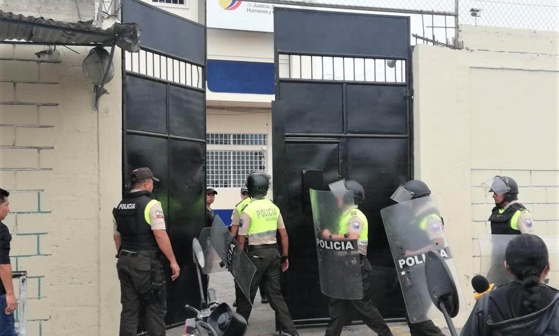 PASANTE HERIDOA EN CÁRCEL DE MACHALA