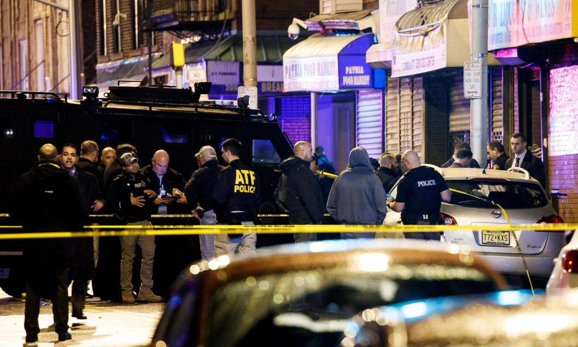 Six people dead following a shooting in Jersey City, New Jersey