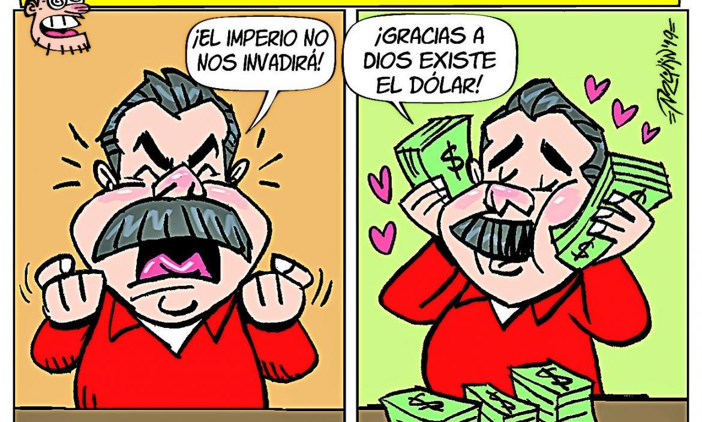 Imagen Imagen BOLLO MADURO AMA EL DÓLAR 20- (28422414)