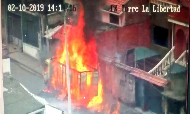 Imagen incendio cuenca