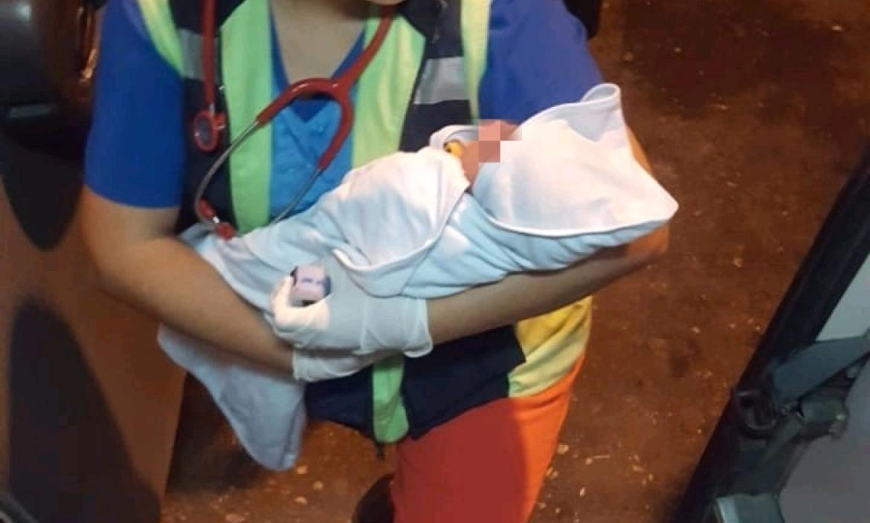 Imagen recién nacida abandonada guasmo guay (28483581)