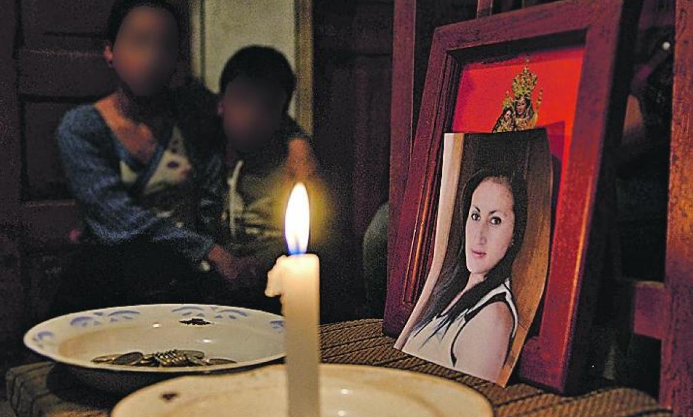LILIANA FLORES HALLADA MUERTA Y QUEMADA EN TERRENO BALDIO EN PIGANTA