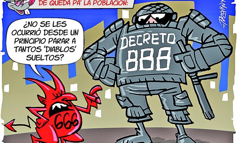 Imagen Imagen PULPERO TOQUE DE QUEDA DECRET (28196647)