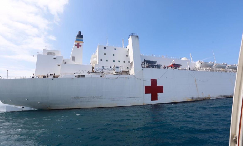 Imagen buque hospital comfort