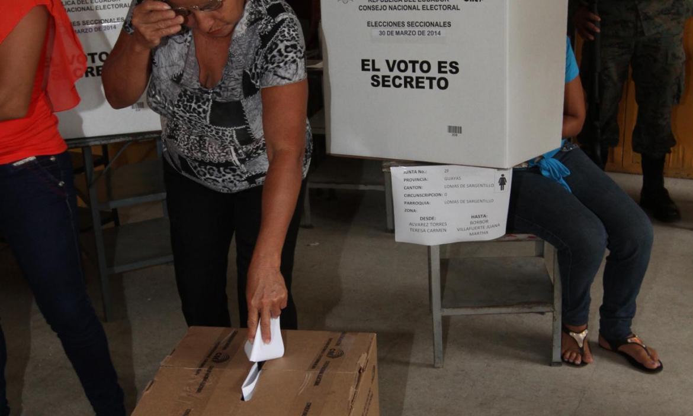 ELECCIONES SECCIONALES 2014 - PROCESO ELECTORAL EN EL CANTÓN PEDERNALES