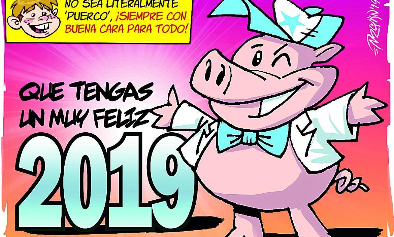 Imagen CHICHO AÑO DEL CERDO 01-01-2019