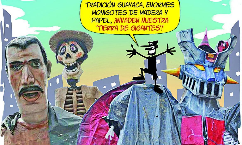 Imagen BOLLO GIGANTES DEL SUBURBIO GUAYACO (26457241)