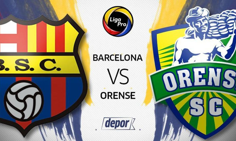 Barcelona y Orense se enfrentan en el estadio Monumental.
