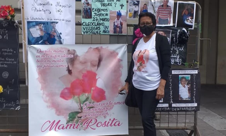 Rosa Elena Alvarado Díaz falleció en marzo pasado. Sus familiares estarán en la manifestación.