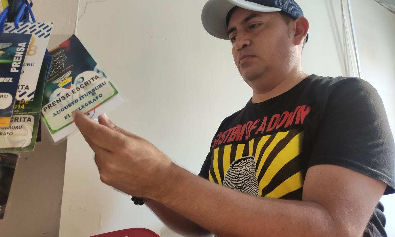 caso periodista fallecido Augusto Itúrburu - hno Nelson Itúrburu