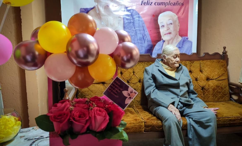 abuelita de 105 años