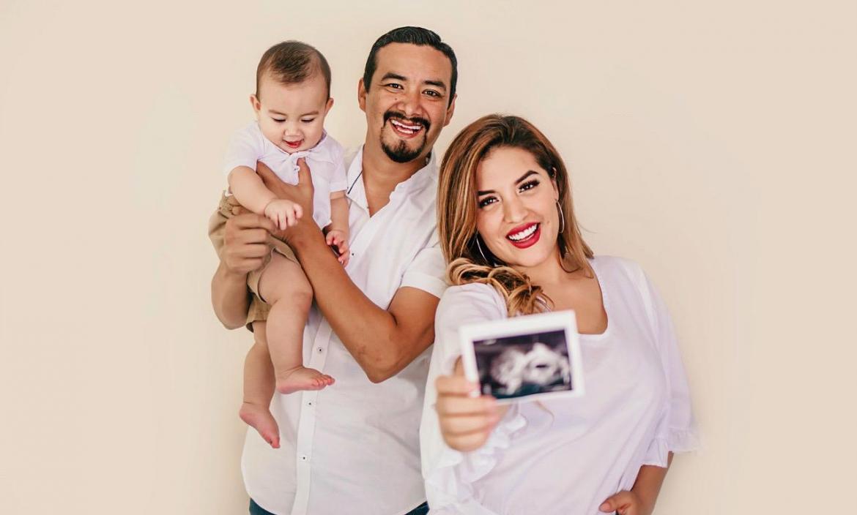 Alejandra Sánchez está a punto de tener a su segundo hijo.