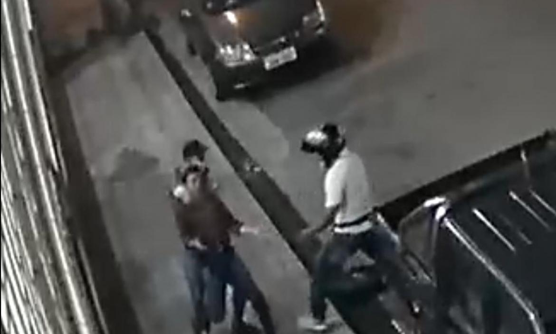 El robo quedó registrado en vídeos de seguridad.