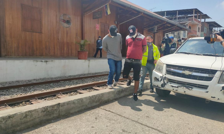 detenidos en Yaguachi