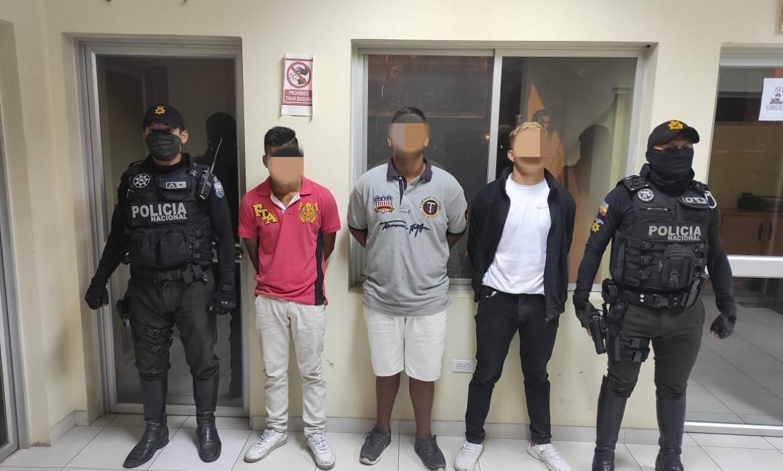 detenidos en Durán