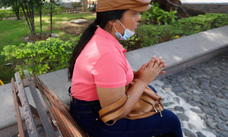 Mercedes, de 26 años, es una de las cinco jóvenes que acusó al religioso Evert García de violación.