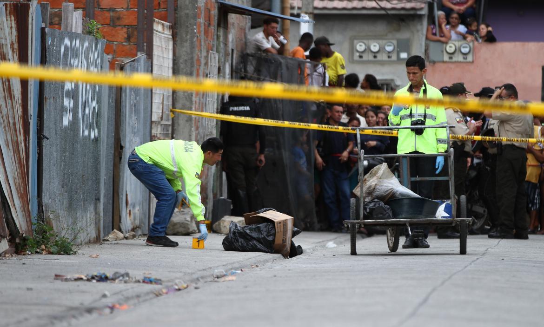 El cuerpo de Verónica Silva Ruiz fue hallado en un saco de yute.