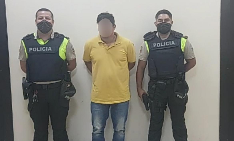 Israel Nivelo Cuadrado fue detenido la tarde del sábado