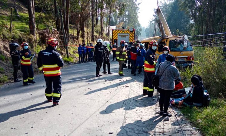 Accidente autopista