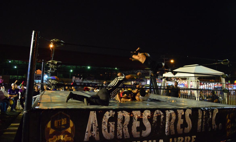 Lucha libre en Guayaquil