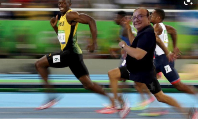 Memeros hicieron un montaje de Usain Bolt y Alvarito.