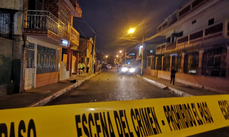 En este sector de Durán fue asesinado Rodolfo Farías Guayamabe.