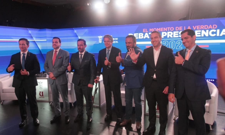 Los candidatos no debatieron, solo promocionaron sus propuestas.