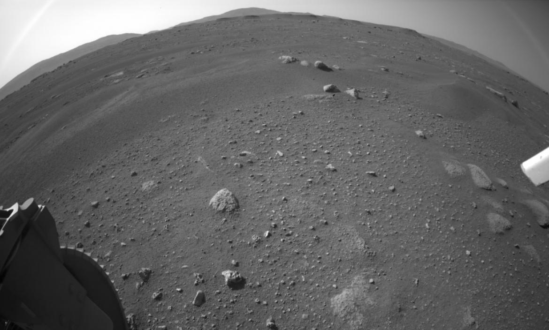 La NASA compartió imágenes del aterrizaje del rover Perseverance.